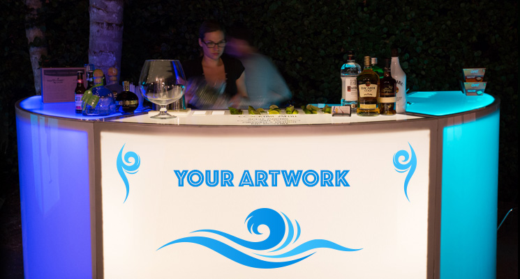 custom bar rental miami & fort lauderdale, south florida