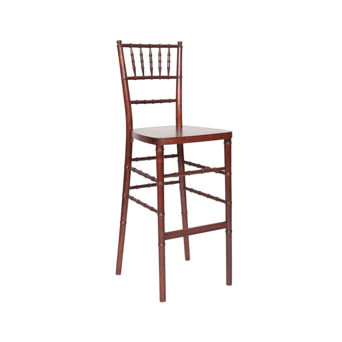 Mohagony Chiavari Bar Stool rental  - Miami - Fort Lauderdale and South Florida