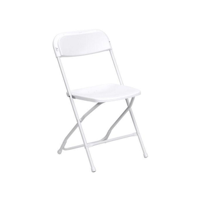 White Kids Folding Chair rental - Miami - Fort Lauderdale and South Florida